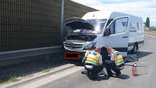 Halálos baleset az M0-s autópályán