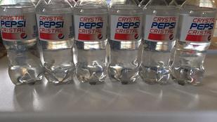 Visszatér a Crystal Pepsi