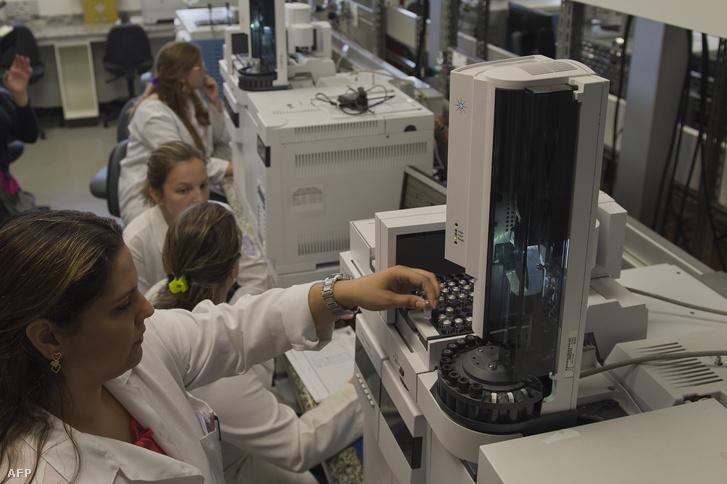 A Brazil Doppingellenőrző Hatóság laborja a Rio de Janiero-i egyetemen
