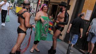 A madridi pride-hoz képest a pesti egy decens teadélután