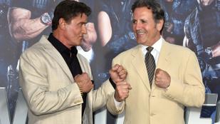 Sylvester Stallone öccse legalább akkora férfi, mint a bátyja