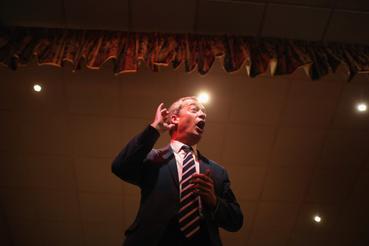 UKIP lakossági fórum 2013-ban, South Sields-ben a helyi választások előtt.