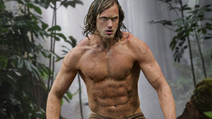 Így gyúrta magát Tarzanná Alexander Skarsgård