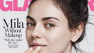 Mila Kunis smink nélkül a címlapon