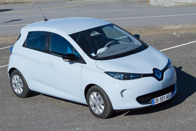 A képen egy Renault Zoé szerepel, nem a cég kísérleti autója