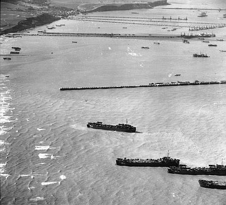 Partra szállás Normandiában 1944-ben