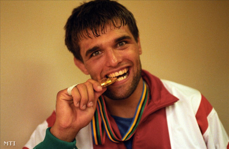 Farkas Péter olimpiai bajnok a 92-es barcelonai olimpián
