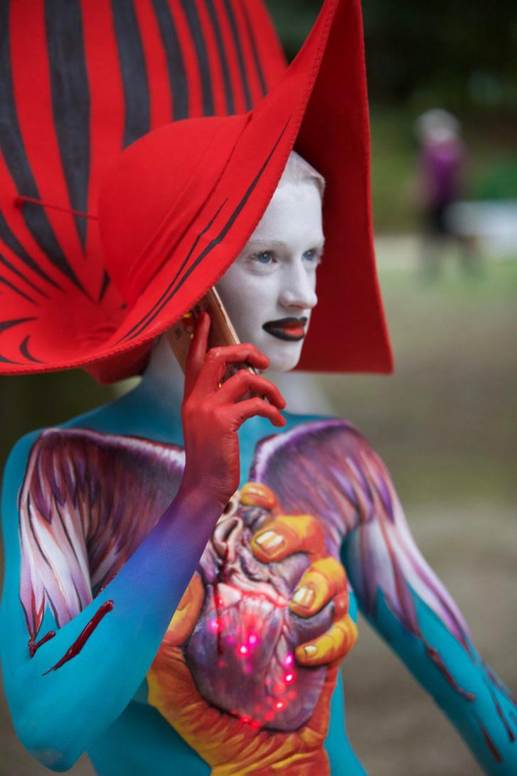 testfestő verseny