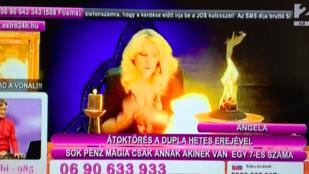 A TV2 jósnője majdnem felgyulladt élő adásban