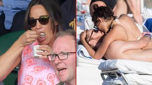 David Guetta smárolással, Pippa Middleton evéssel tölti a nyarat