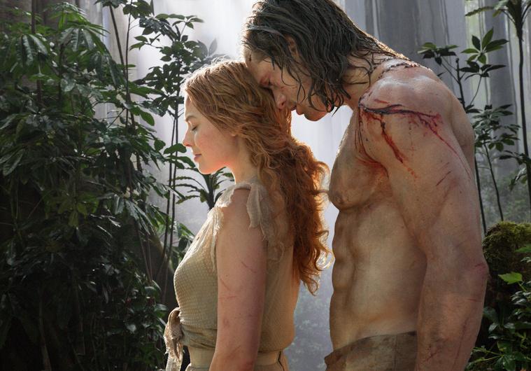 Margot Robbie és Alexander Skarsgård a Tarzan legendájában