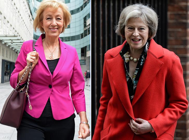 Andrea Leadsom és Theresa May