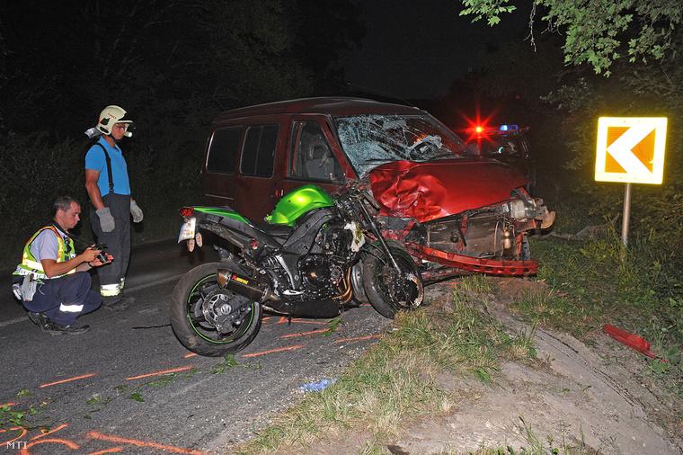 A Pomáznál történt balesetben egy 30 éves férfi vesztette életét