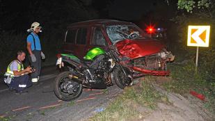 Két halálos motorbaleset történt este