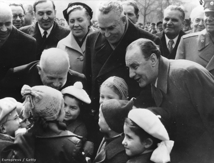 Kádár 1958-ban Hruscsovval