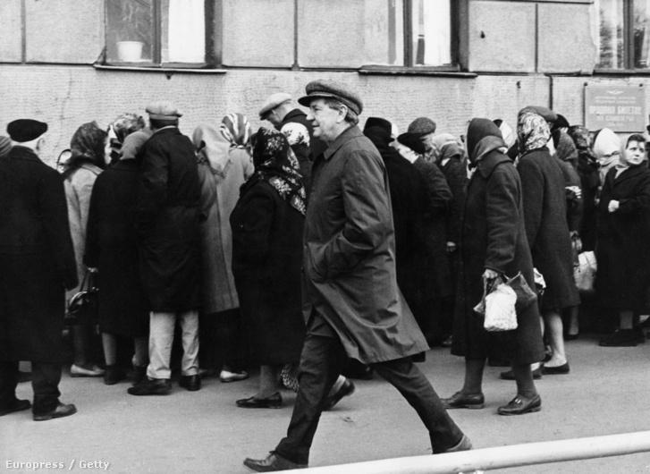 Philby Moszkvában 1968.