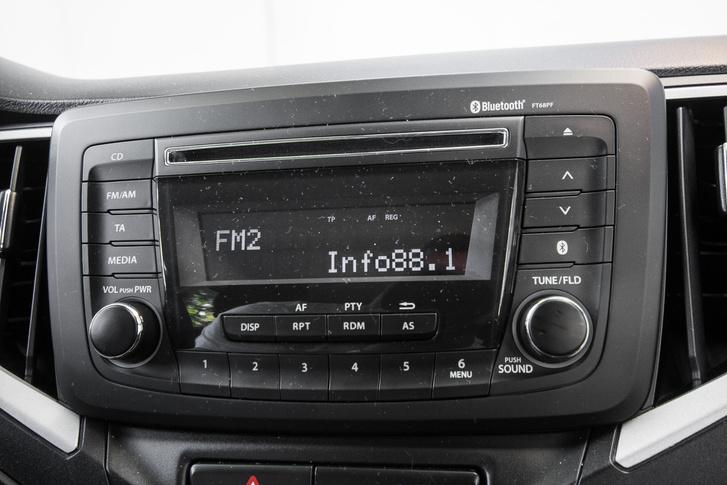 A rádió, amin nem sikerült Bluetooth-kapcsolatot létesíteni
