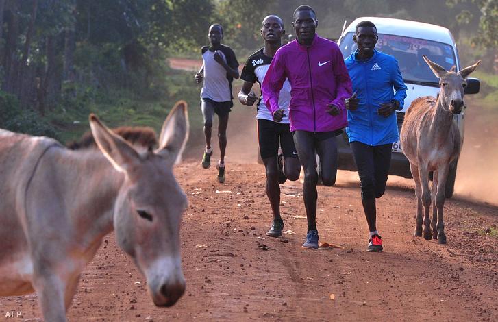 Sportolók az iteni edzőtáborban
