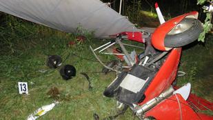 Két ember halt meg egy lezuhant sárkányrepülőben Zalaegerszegnél
