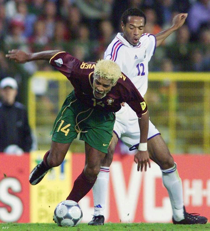 Abel Xavier és Thierry Henry