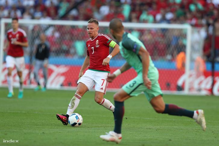 Dzsudzsák Balázs a magyar-portugál mérkőzésen