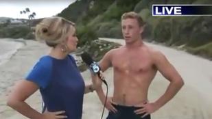 Íme James, aki nem fél a cápáktól