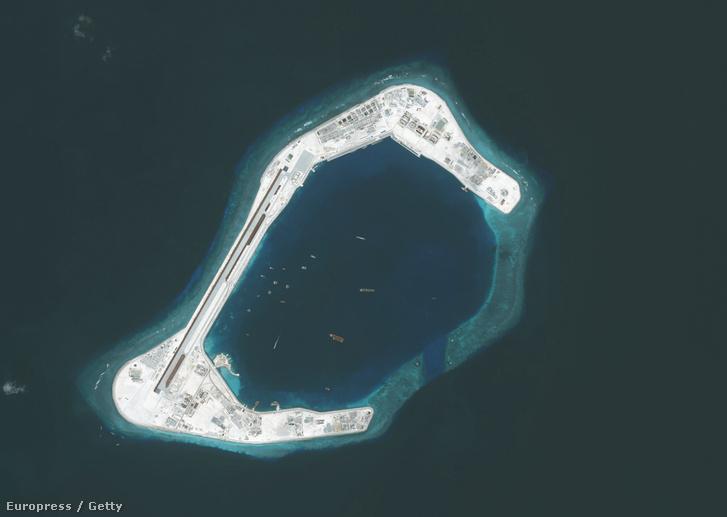 A Subi-zátony a Dél-kínai-tengeren, mely a Spratly-szigetekhez tartózik.