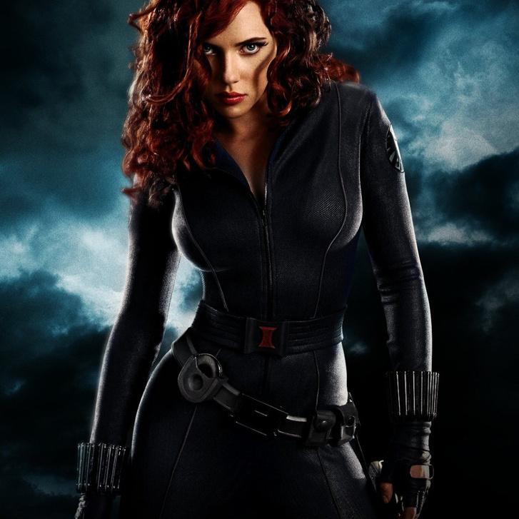 black widow- iron man