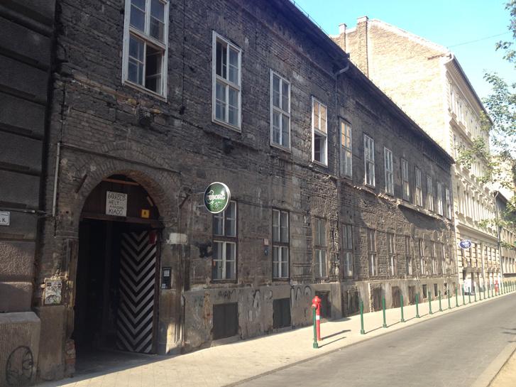 A Palotanegyed második legöregebb háza. Még a Nemzeti Múzeum előtt épülhetett