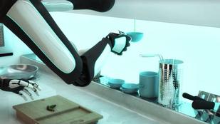 Képzeljen el egy konyhát, ami megfőz, aztán el is mosogat
