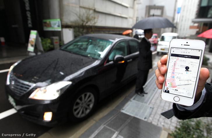 Tokióban működik az Uber
