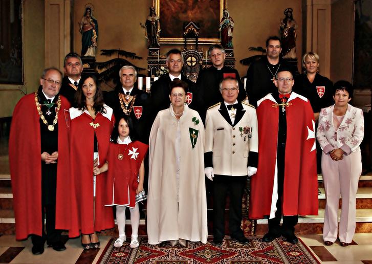 A Sir Kertész-Bakos Ferenc által életre hívott Szent György Lelkiségi Mozgalom 2011-ben