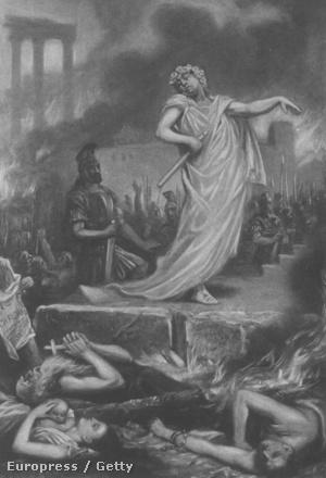 Nero és az égő Róma
