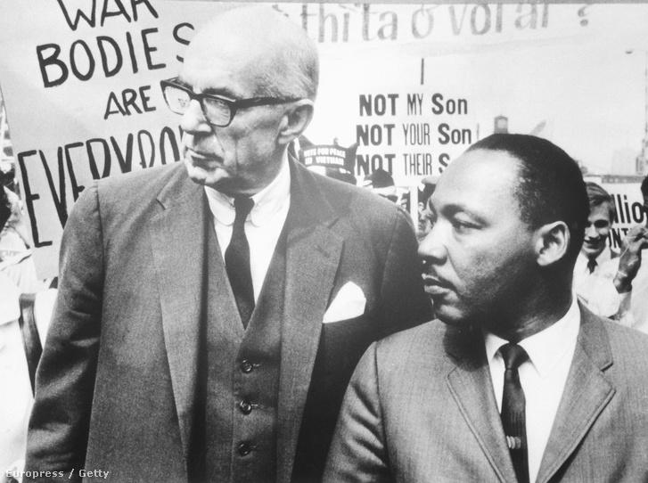 Benjamin Spock és Martin Luther King