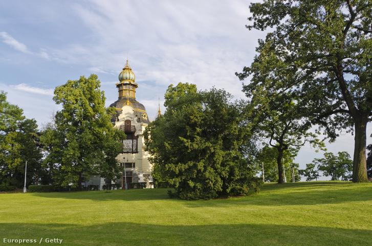 A prágai Letenské park