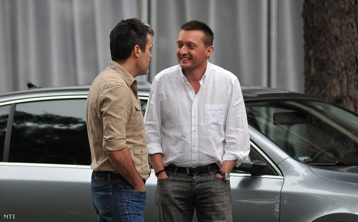 Habony Árpád és Rogán Antal