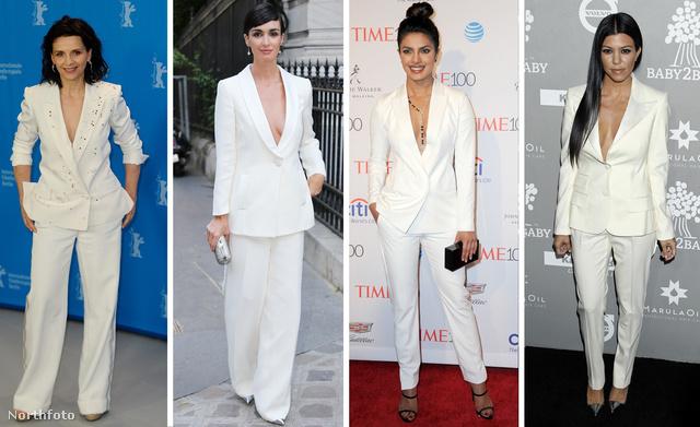 430ebb027f Balról jobbra: Juliette Binoche, Paz Vega, Priyanka Chopra és Kourtney  Kardashian