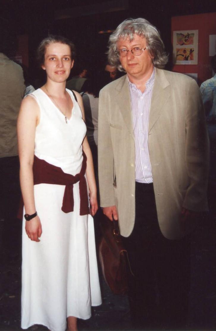 Jakimenko Okszana és Esterházy Péter 2003-ban