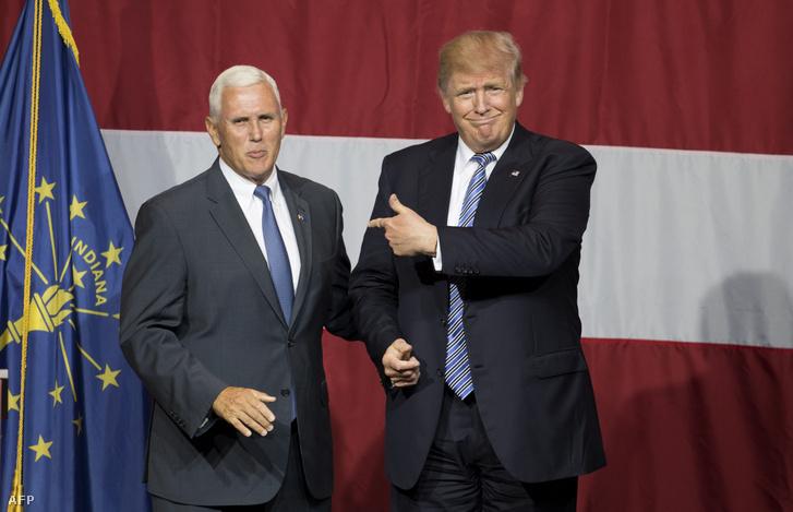 Mike Pence és Donald Trump