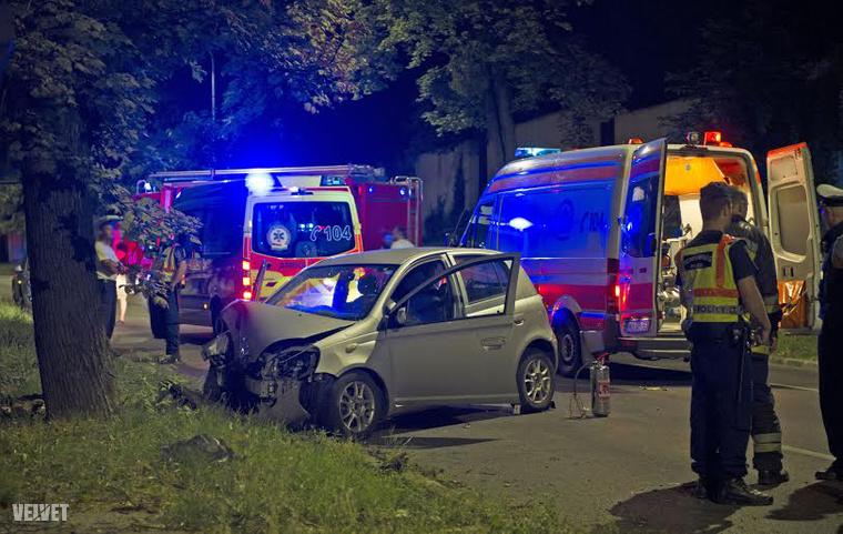 németvölgyi úti baleset