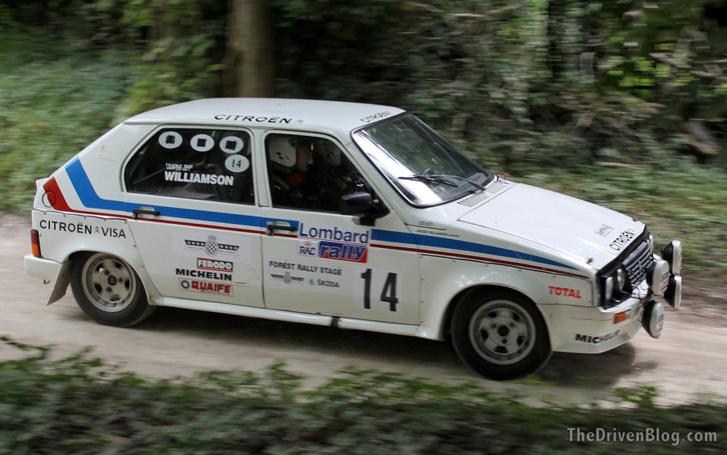 Citroen Visa Rally / Forrás: thedrivenblog.com