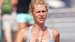Claire Danes futva feszegette tűrőképessége határait