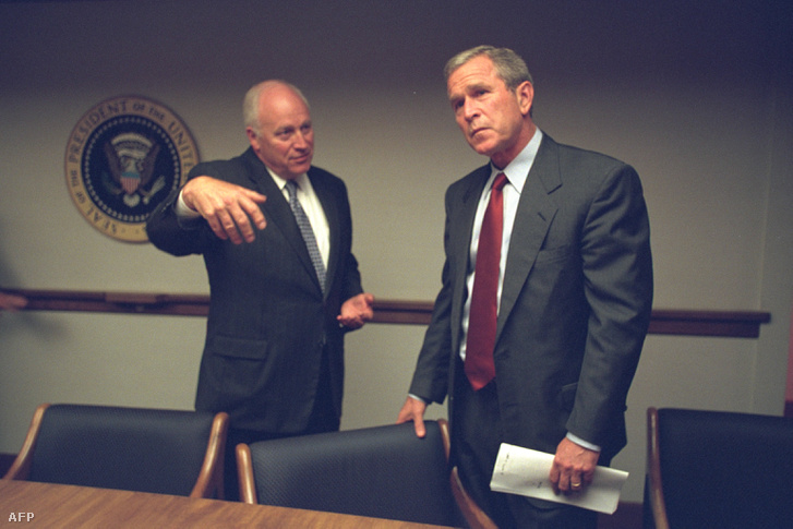 Dick Cheney és George W. Bush