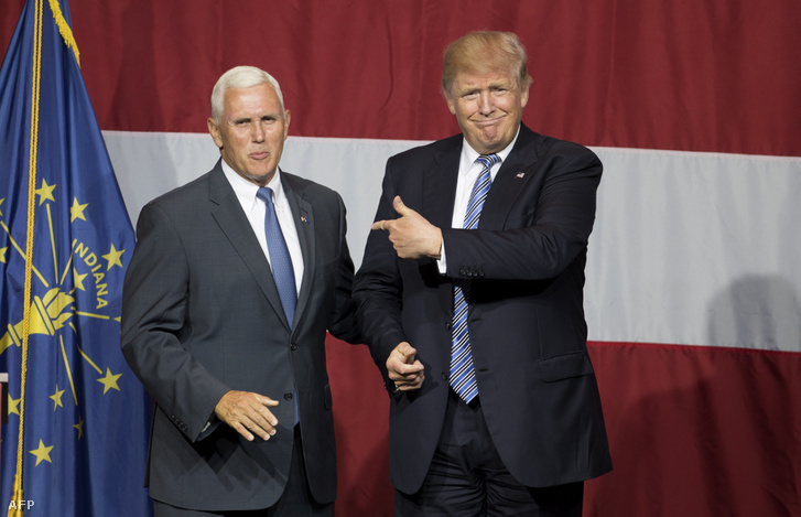 Mike Pence és Donald Trump