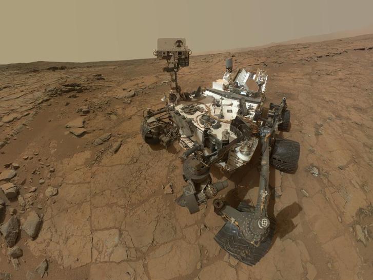 Curiosity Marsjáró 2012 óta rója a köröket a bolygón