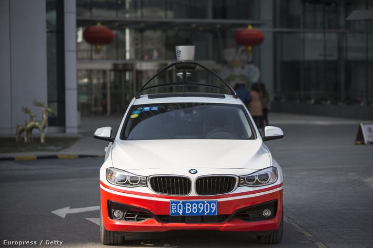 A kínai Baidu önvezető autója