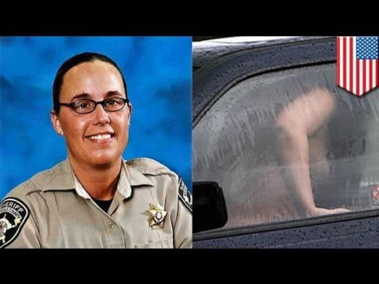 A rendőrautóban szexelő Loretta Hernandez