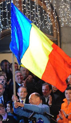 Basescu is ünnepelt