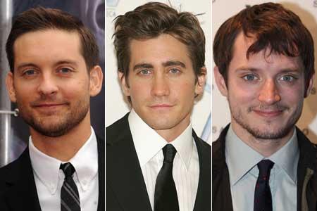 Tobey Maguire, Jake Gyllenhaal és Elijah Wood