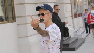 Egy újabb bizonyíték, hogy Justin Bieber valamiért nagyon mérges a világra